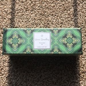 Vera Bradley candle gift set NEW IN BOX